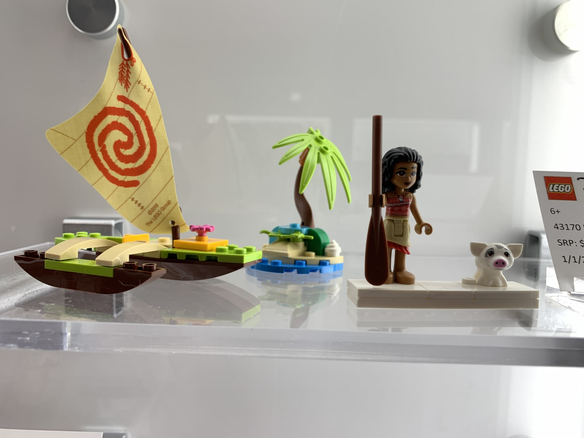 Lego Disney Princess Moana/'s Ocean Adventure Building Set 43170