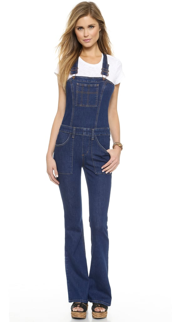 After seeing Kate Bosworth in her flared overalls on the streets of New York, all I can think about is picking up a pair of my own. I love the Y-shaped straps on this Joe's Jeans Charlie '70s-inspired design ($229), and the pant leg spans just wide enough for me. — SW, editorial assistant