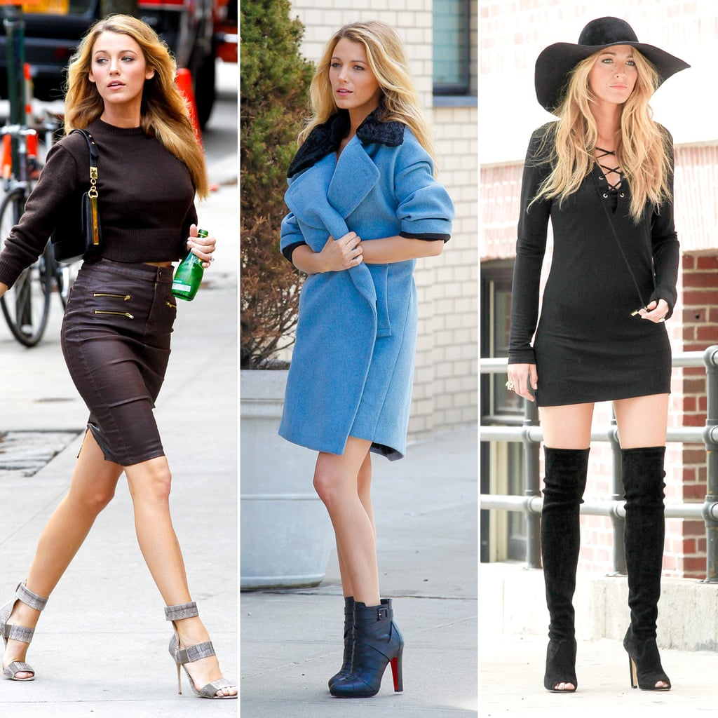 Blake Lively Pictures on a Photo Shoot in NYC After Met Gala