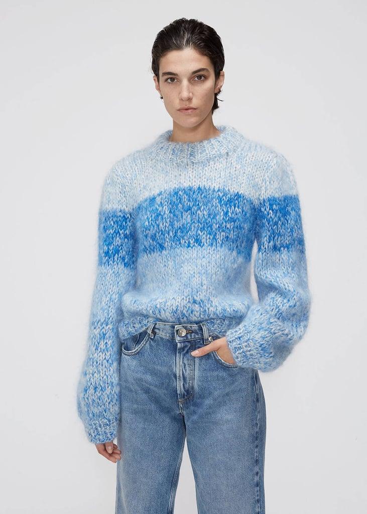 Ganni Puff Sleeve Pullover