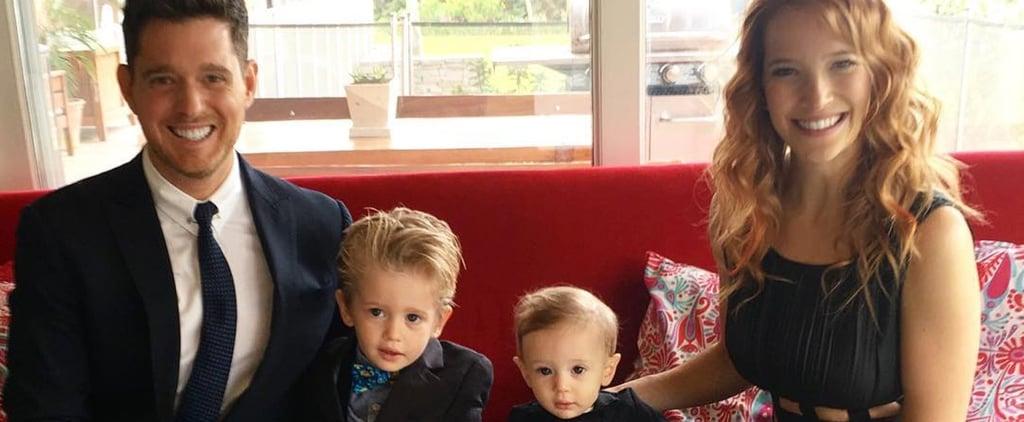 Michael Buble Talks About Son Noah's Cancer Battle