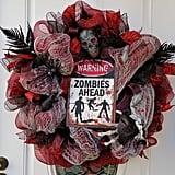 Zombie Mesh Wreath