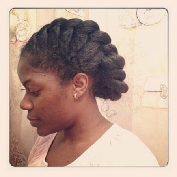 how to style hair for an an oversize braid is a great option for 5182