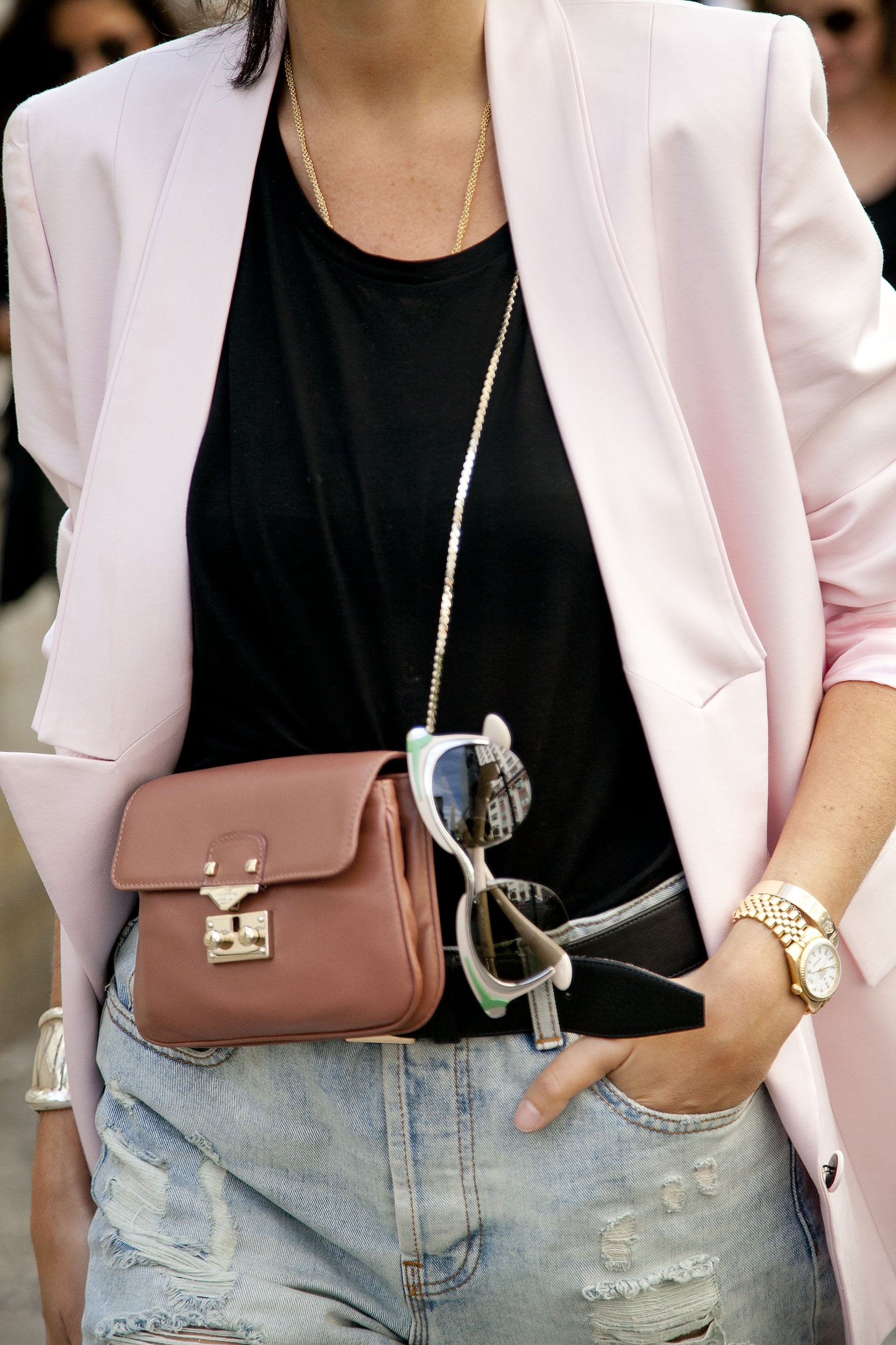 A mini bag isn't just adorable; we also love that it's entirely functional.