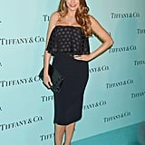 October at a Tiffany and Co. Store Opening in Los Angeles