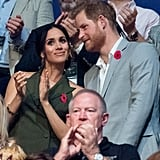 Meghan Markle Shares Picture of Prince Harry on Twitter 2018