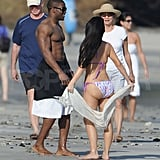 Photos of Kim and Reggie in Costa Rica