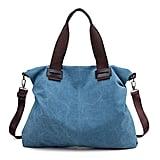 Women's Canvas Shoulder Bag Crossbody Work Travel Weekender Bag
