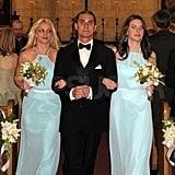 Britney Spears Walks Down the Aisle as a Bridesmaid