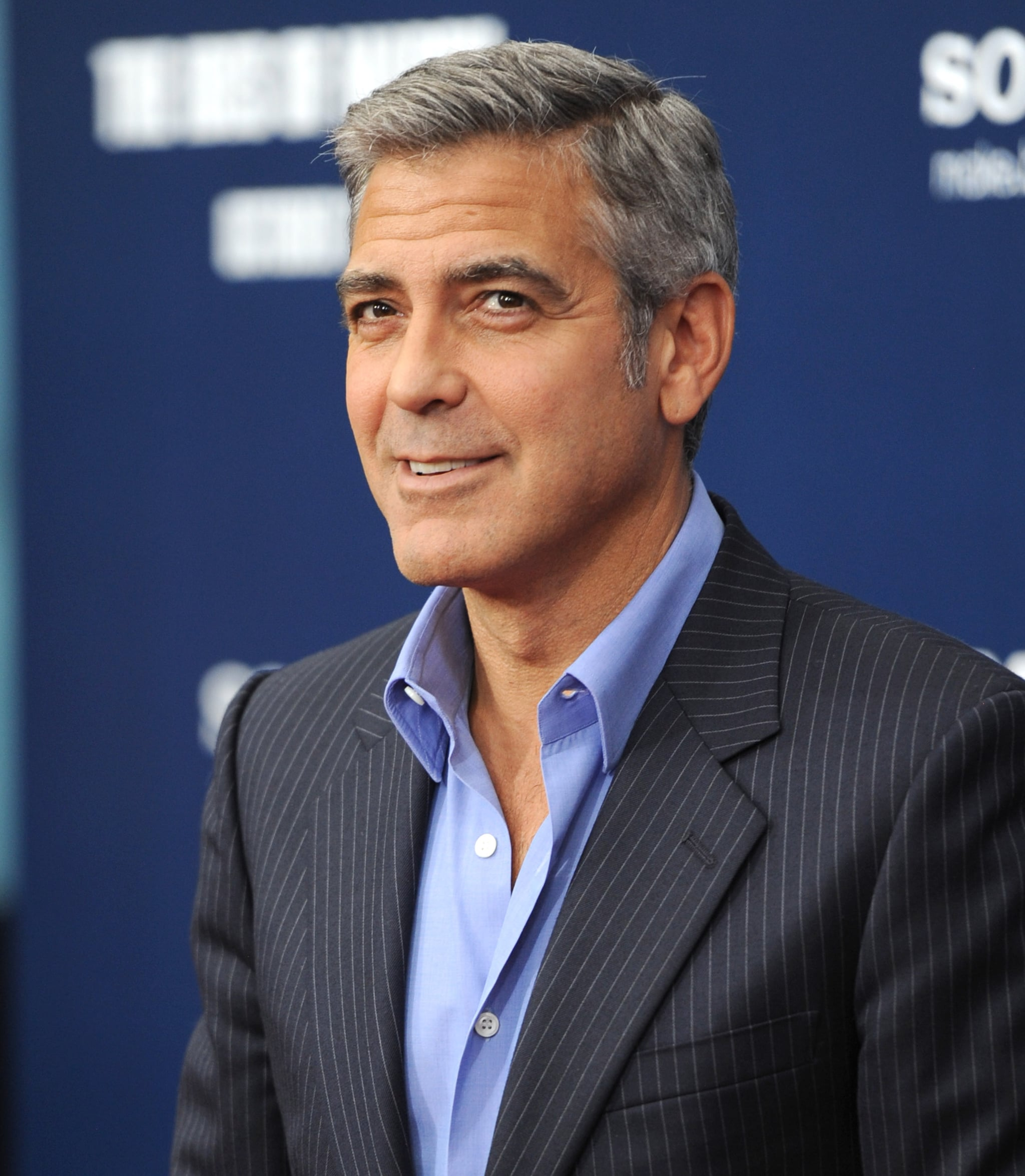 George Clooney answered press questions before the premiere of The Ides of March in NYC.