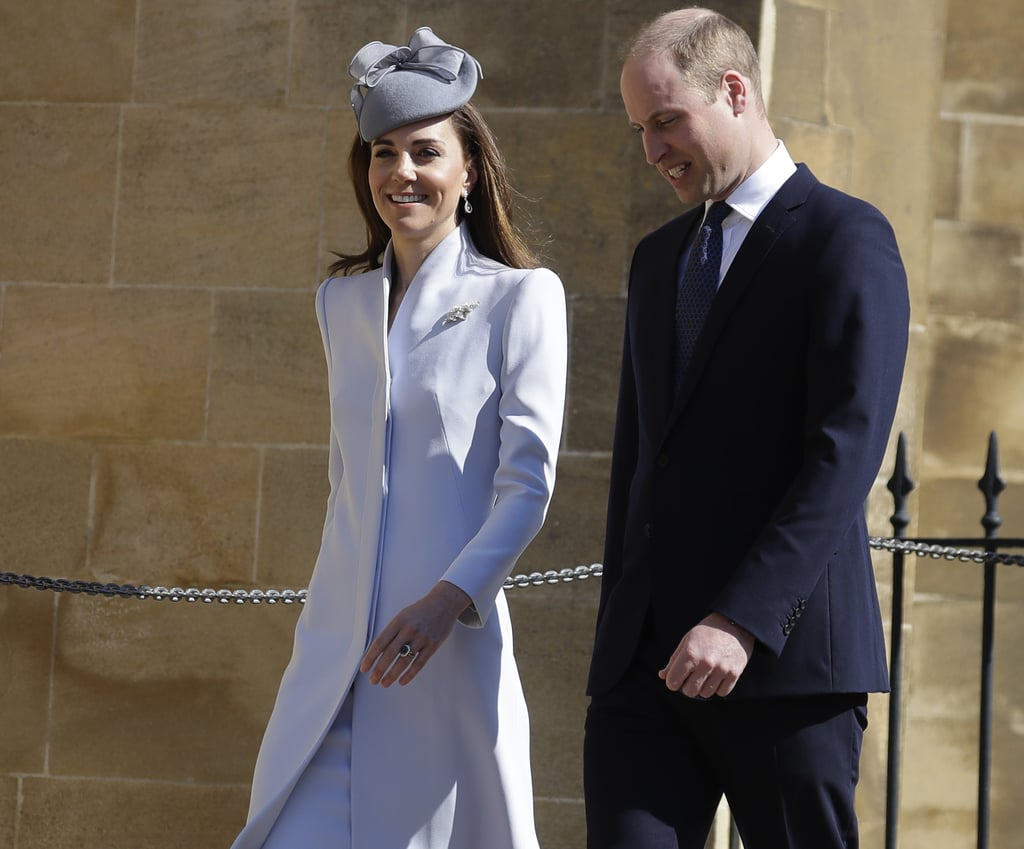 What's Old Is New Again When Kate Middleton Adds a Brooch Onto This Coat