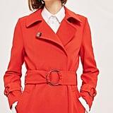 Topshop Daisy Crepe Duster Coat
