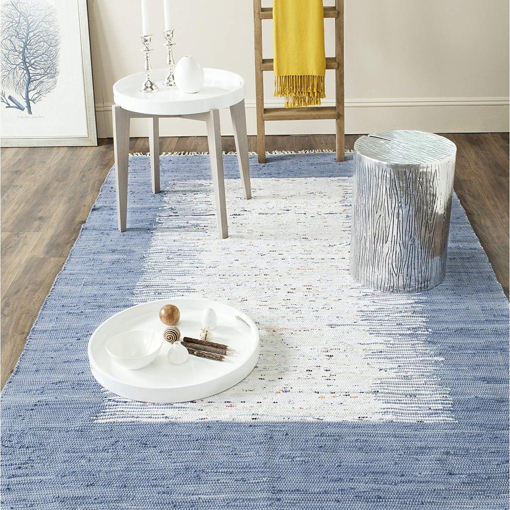 Safavieh Montauk Collection Handmade Flatweave Cotton Area Rug