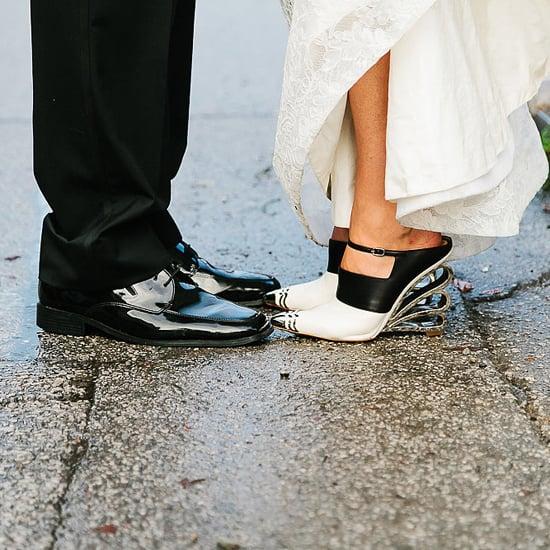Unique Wedding Shoes POPSUGAR Fashion