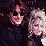 Melrose Place star Heather Locklear and guitarist Richie Sambora arrived at the 1994 awards.