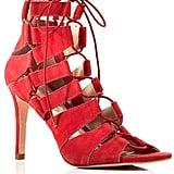 Loeffler Randall Lace-Up High Heel Sandals ($375)