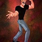 John Smith as Johnny Bravo