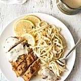 Creamy Lemon Chicken and Linguine