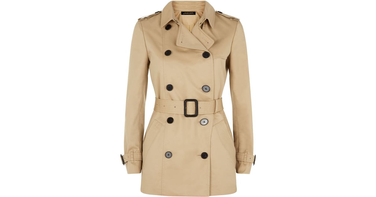 top quality best deals on official images Jaeger Double-Breasted Trench Coat | Best Trench Coats ...