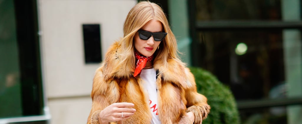 Rosie Huntington-Whiteley's Bag Is the Best Accessory I've Seen All Fashion Week