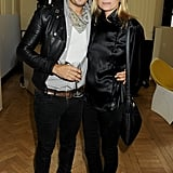 Kate Moss and Jamie Hince Enjoy the Men's Side of London Fashion Week