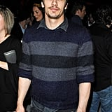 James Franco at a vitaminwater party for Killer Joe.