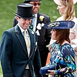 In June 2017, Jack Brooksbank and Princess Eugenie were all smiles at Royal Ascot.