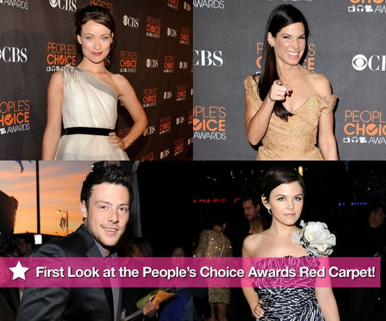 Photos from the red carpet of the 2010 People's Choice Awards 2010-01-06 19:11:20