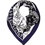 River Island Mixed-Print Square Scarf
