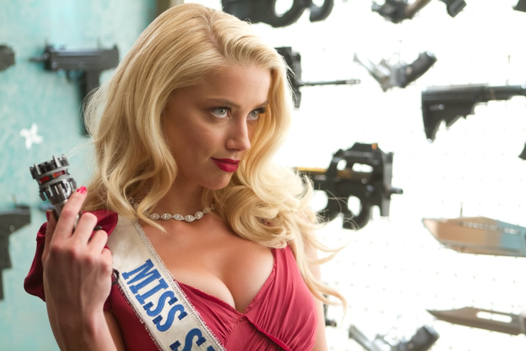 Amber Heard in Machete Kills. Source: Open Road Films