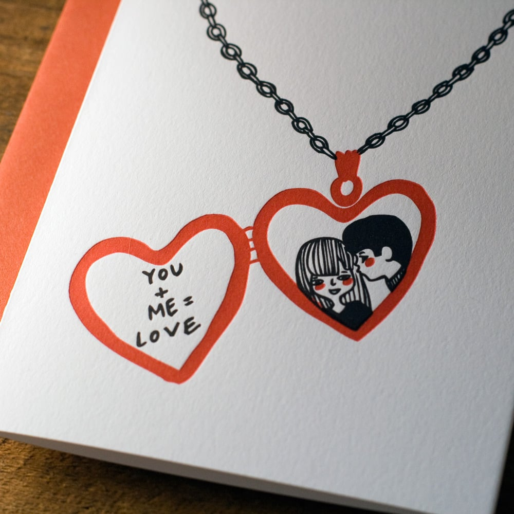You + this card = adorable.  Love Locket $4.50