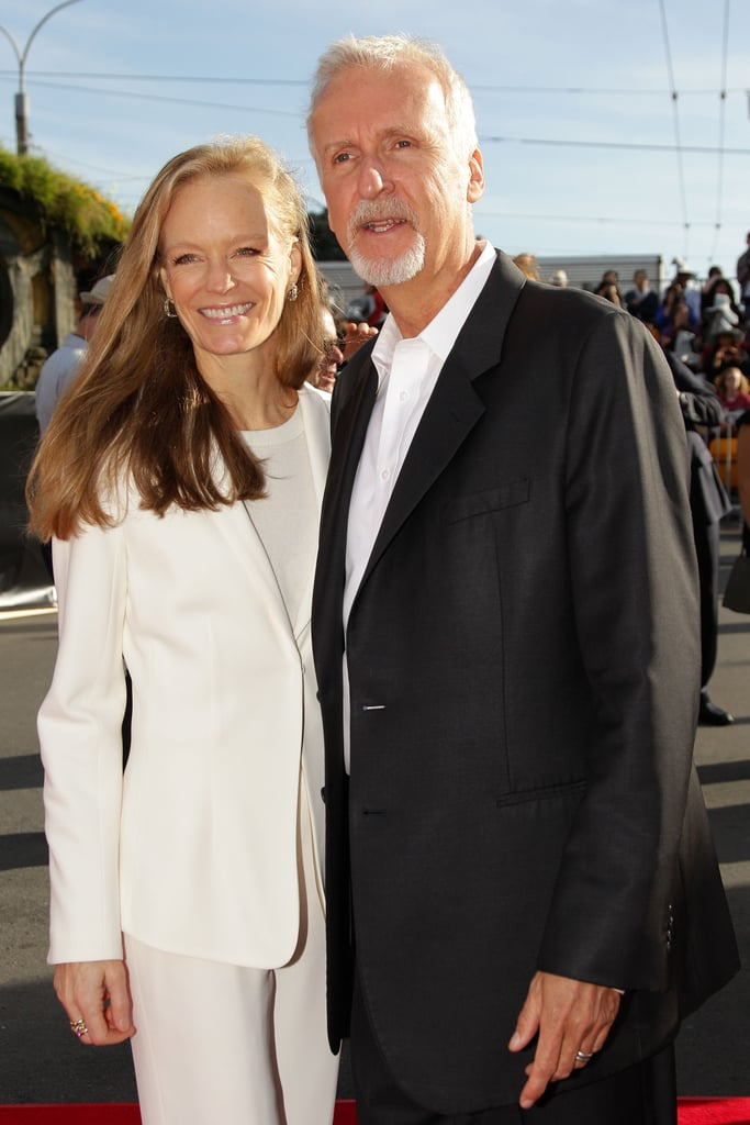 James Cameron and his wife attended the New Zealand premiere of The Hobbit: An Unexpected Journey.