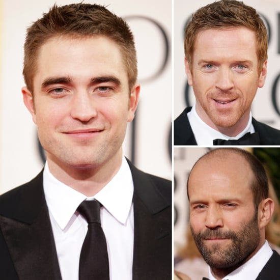 The gorgeous guys did not disappoint last night at the Golden Globe Awards. In fact, they practically ruled the red carpet with their dapper hairdo's, handsome tuxedos and killer smiles. Robert Pattinson looked amazing, as did Eddie Redmayne, Hugh Dancy and Tom Sturridge next to his lovely baby mama Sienna Miller. See all of the mad masculinity this Monday morning and let me know who got your heart racing most.