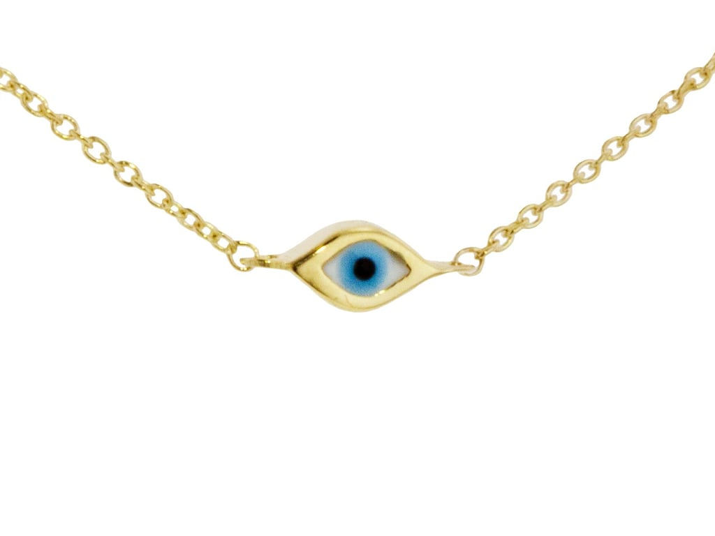 Sydney Evan Mini Single Evil Eye Necklace