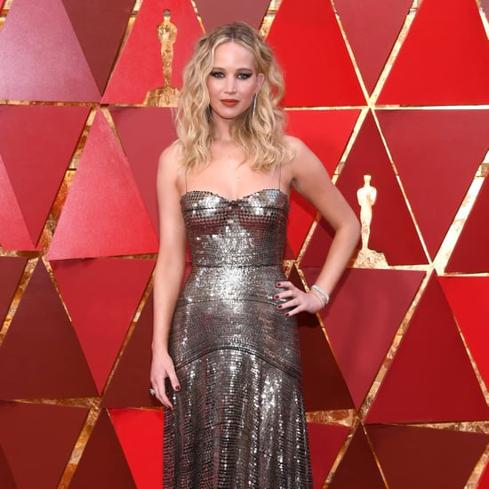 Metallic Dresses at the Oscars 2018