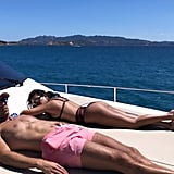 Kourtney Kardashian Bikini Pictures in Italy July 2019