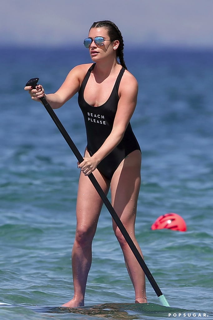 Lea Michele on Vacation in Hawaii Pictures February 2017