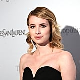 Emma Roberts at the Metropolitan Opera gala in NYC.