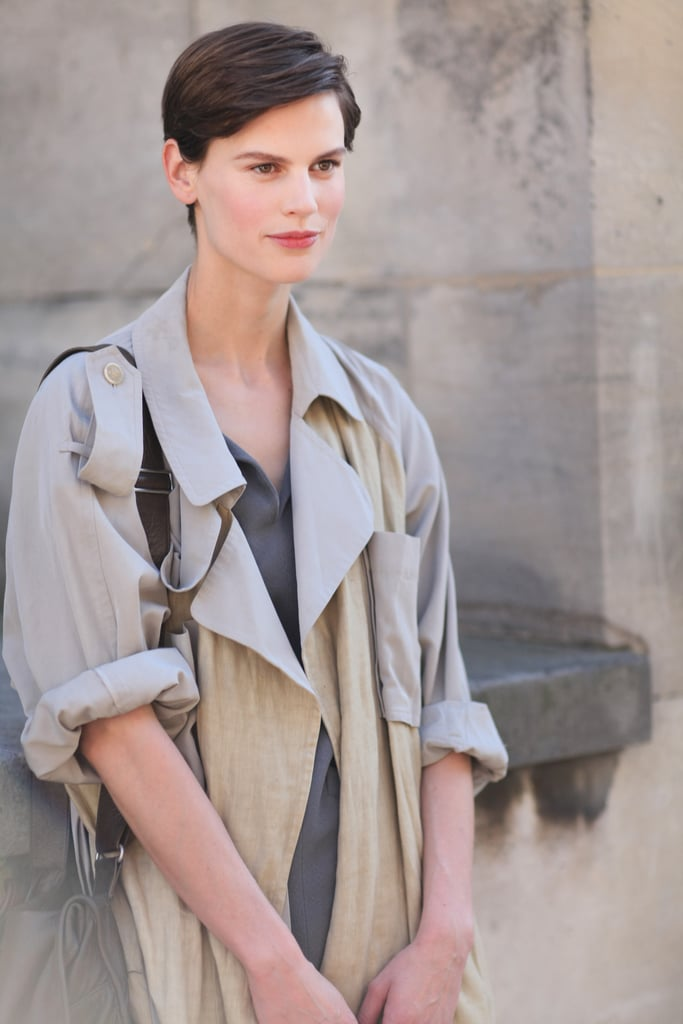 A classic trench that's effortlessly chic and Parisian.