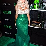Kim Kardashian as a Mermaid