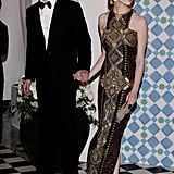 The were dripping with glamour in March 2010, when they arrived at the Monte Carlo Morocco Rose Ball.