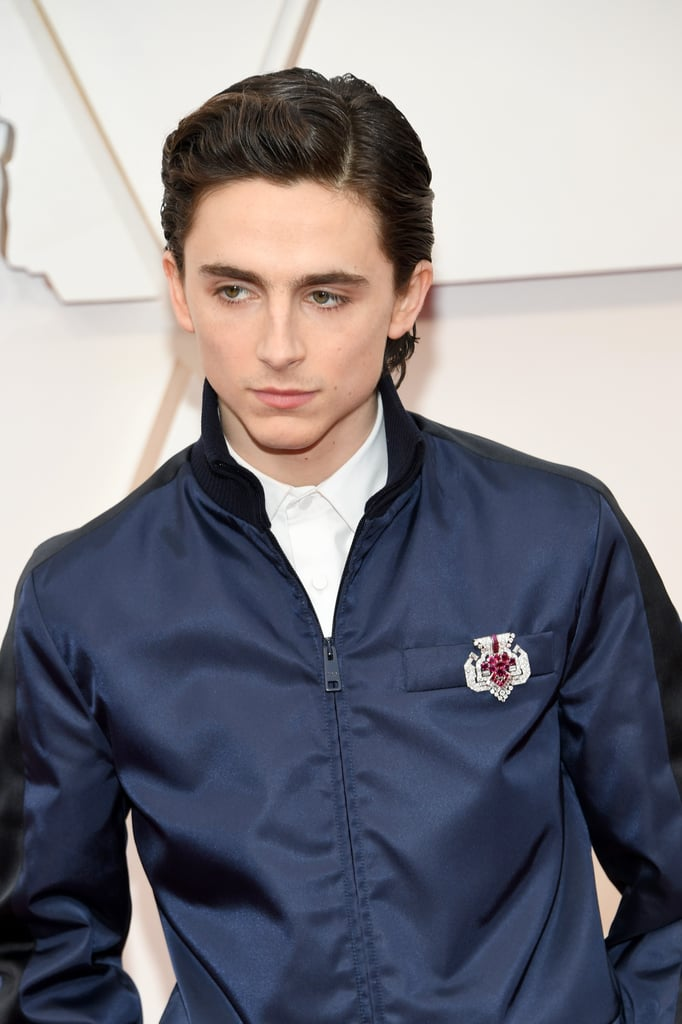 Timothée Chalamet at the Oscars 2020
