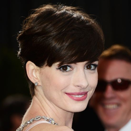 Anne Hathaway Oscars Makeup 2013