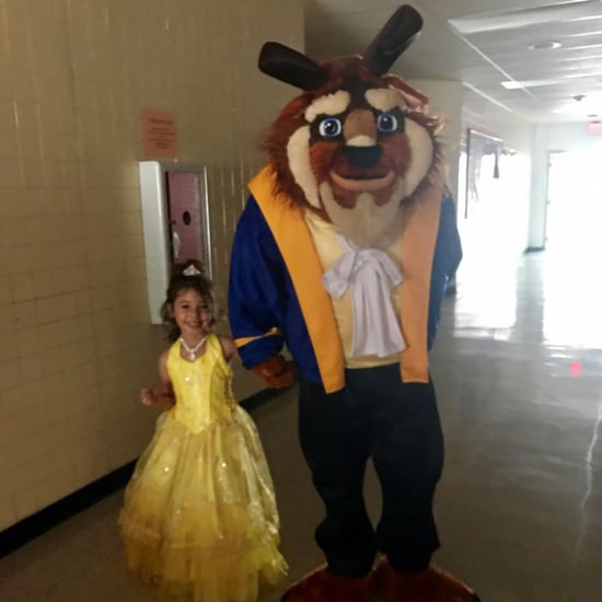 Deployed Dad Sends Beast to Father-Daughter Dance