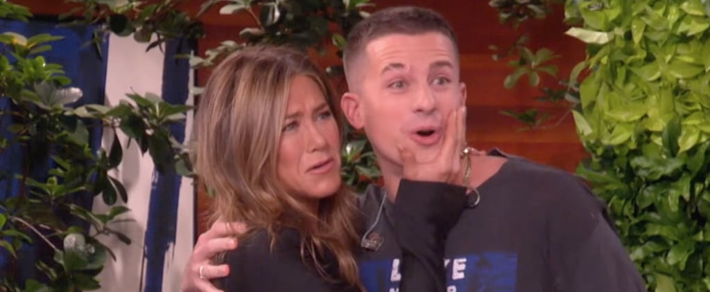 Charlie Puth Meets Jennifer Aniston on The Ellen Show Video