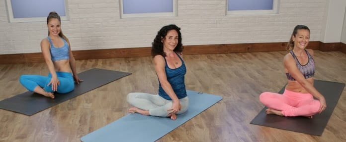 5-Minute Yoga Workout For Abs