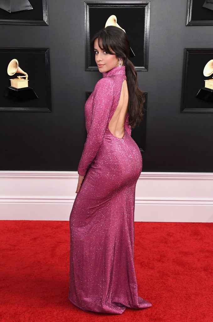 Camila Cabello at the 2019 Grammy Awards