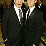 Sir Ian McKellen and Jude Law, 2004