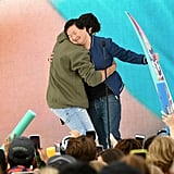 Noah Centineo and Ken Jeong at the Teen Choice Awards 2019