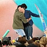 Noah Centineo and Ken Jeong at the Teen Choice Awards 2019